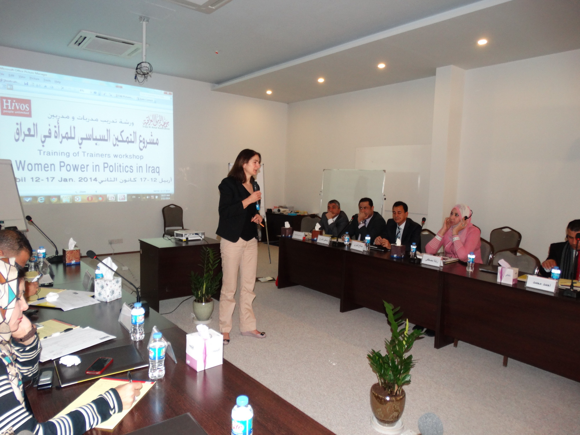 Hivos and Al Amal empower women candidates for Iraqi parliamentary